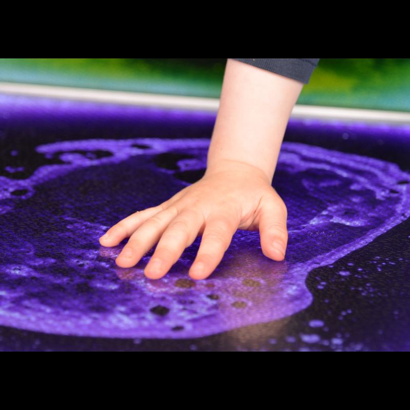 PlayLearn Sensory Light-Up Floor Tile :: Sports Supports | Mobility ...