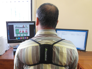 Improving Computer Posture With The Posture Medic Posture Brace