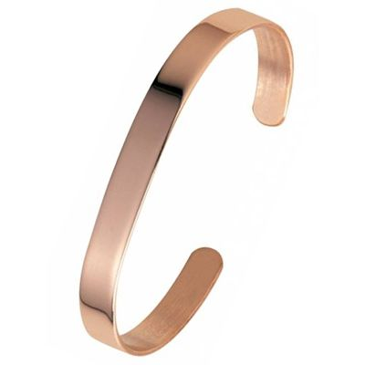 Sabona Plain Copper Bracelet (7mm or 9mm Width)
