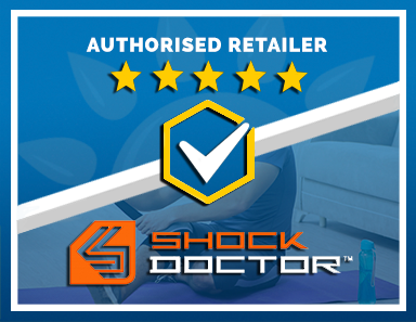 We Are an Authorised Retailer of Shock Doctor Products