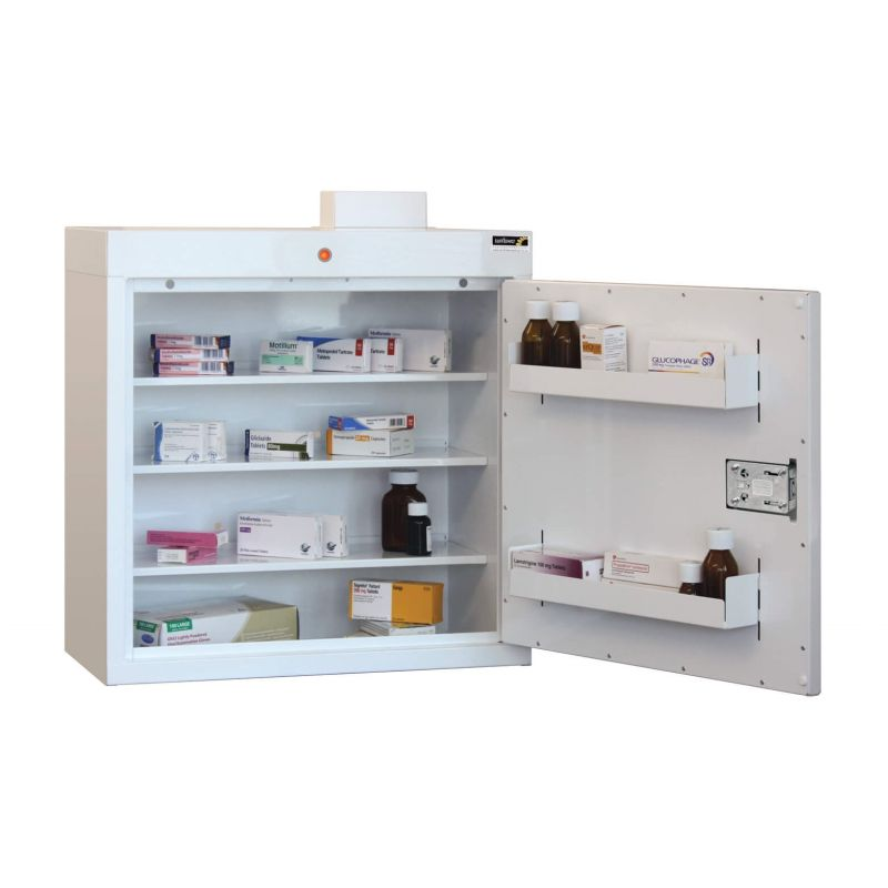 Excellent Sunflower Medical Medicine Cabinet 60 X 60 X 30Cm With Three Shelves And Two Door Trays Interior Design Ideas Gentotthenellocom