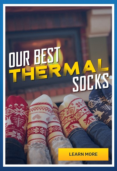 Best thermal socks to keep you warm