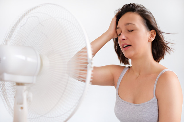Using a Fan to Cool Down