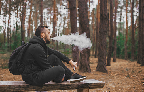 Vaping in the Woods