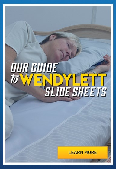 WendyLett slide sheets for patient positioning
