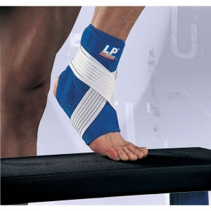 LP Neoprene Ankle Support with Stay and Strap