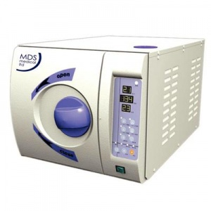 MDS Medical 8L B-Type Vacuum Autoclave for Podiatry and Chiropody