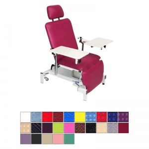 Medi-Plinth Single Column Drop End Plastering Chair