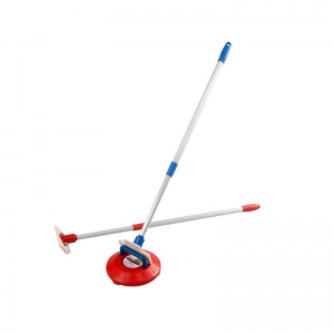 New Age Kurling Pushers with Telescopic Handles (Pair)
