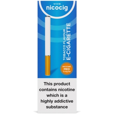 Vivid Nicocig Disposable Tobacco Medium Electronic Cigarette