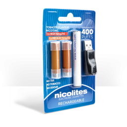 Nicolites Rechargeable Electronic Cigarette Starter Kit