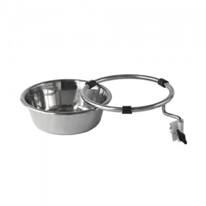7-Litre Stainless Steel Bowl and Bracket for Bristol Maid Caretray Trolleys