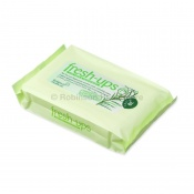 Fresh-Ups Tea Tree and Peppermint-Scented Moist Wipes (Pack of 20)