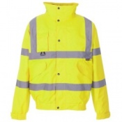 Supertouch Hi-Vis Breathable 2-in1 Bomber Jackets (10 Jackets)