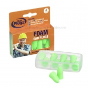 Hush Plugz Foam DIY Earplugs (Pack of Four Pairs)