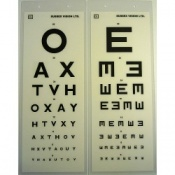 3M Laminated Eye Test Type OAX/E
