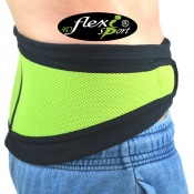 4Dflexisport® Lime Lumbar Support Belt with Side Pulls