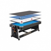 7ft Revolver 3-in-1 Pool / Air Hockey / Table Tennis Game