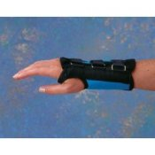 Standard D-Ring Carpal Tunnel Syndrome Wrist Brace Support - Teal