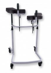 Care Walker with Separately Adjustable Pads