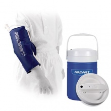 Aircast Paediatric Knee and Elbow Cryo Cuff and Automatic Cooler Saver Pack