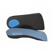 Bodytec 3/4 Orthotic Insoles with Poron Heel Pad