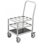 Bristol Maid 12-Cylinder Bulk Transportation Trolley for D and E Cylinders