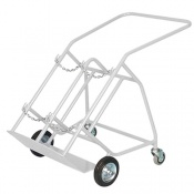 Bristol Maid Double-Cylinder Transportation Trolley with Stabilisers for F and G Cylinders