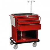Bristol Maid Mild Steel Resuscitation Trolley