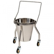 Bristol Maid Stainless Steel Bucket and Stand
