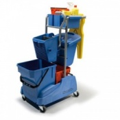 Bristol Maid Twinmop Mopping Trolley