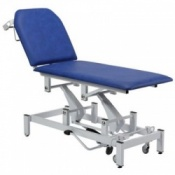 Bristol Maid Two Section Variable Height Swing Lift Examination Couch