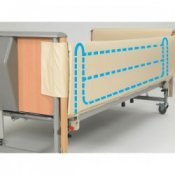 Bed Rail Entrapment Avoidance Wrap Around Cotside Bumpers