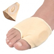 Silipos Deluxe Gel Bunion Sleeve with Pressure Relief Hole