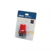 Flashing Red High-Visibility Ferrule