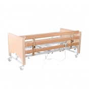 Full Length Wooden Height Extension Side Rails for Casa Profiling Beds