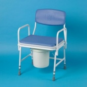 Heavy Duty Commode Chair