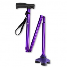 HurryCane Walking Stick (Purple)