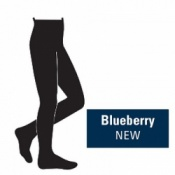 Juzo Attractive 18-21mmHg Blueberry Compression Tights