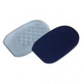Podotech Gel Heel Cups with Shock Pattern and Cover