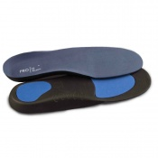2x/'s Orthotic Insoles Comfort light density Arch Support Heel Cup Metatarsal Pad
