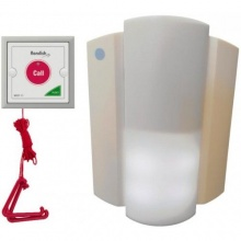 Wireless Pull Cord Disabled Bathroom and Toilet Alarm System