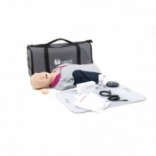 Laerdal Resusci Anne QCPR Mannequin with Airway Head (Torso in Carry Bag)