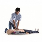 Laerdal Resusci Anne QCPR Mannequin (Torso in Carry Bag)
