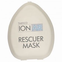 Timesco CPR ION-AIR Rescu-Mask with Valve and O2 Port (20 Pack)