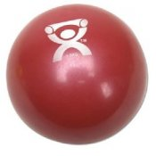 Cando Plyometric Weighted Ball Red 3.3 lbs