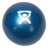Cando Plyometric Weighted Ball Blue 5.5 lbs