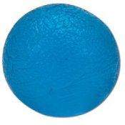 Cando Hand Exercise Ball - Blue/Heavy - Circular