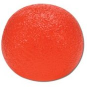 Cando Hand Exercise Ball - Red/Light - Circular