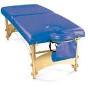Deluxe Portable Massage Table Dark Blue
